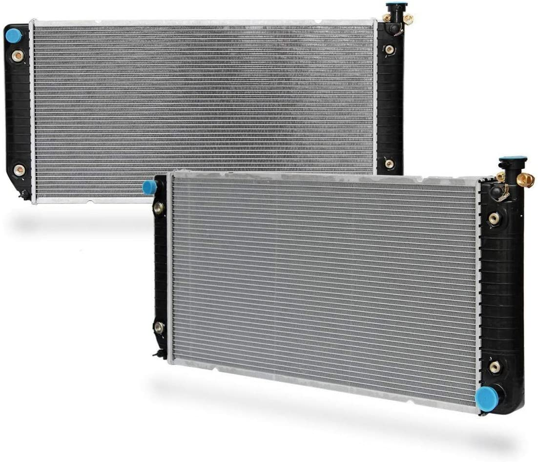 CHEYANE ESCALADE RADIATORS INLET PLASTIC TANKS FOR GM SILVERADO