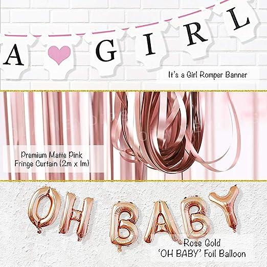 Amazon.com: Ola Memoirs Premium Baby Shower Decoraciones ...