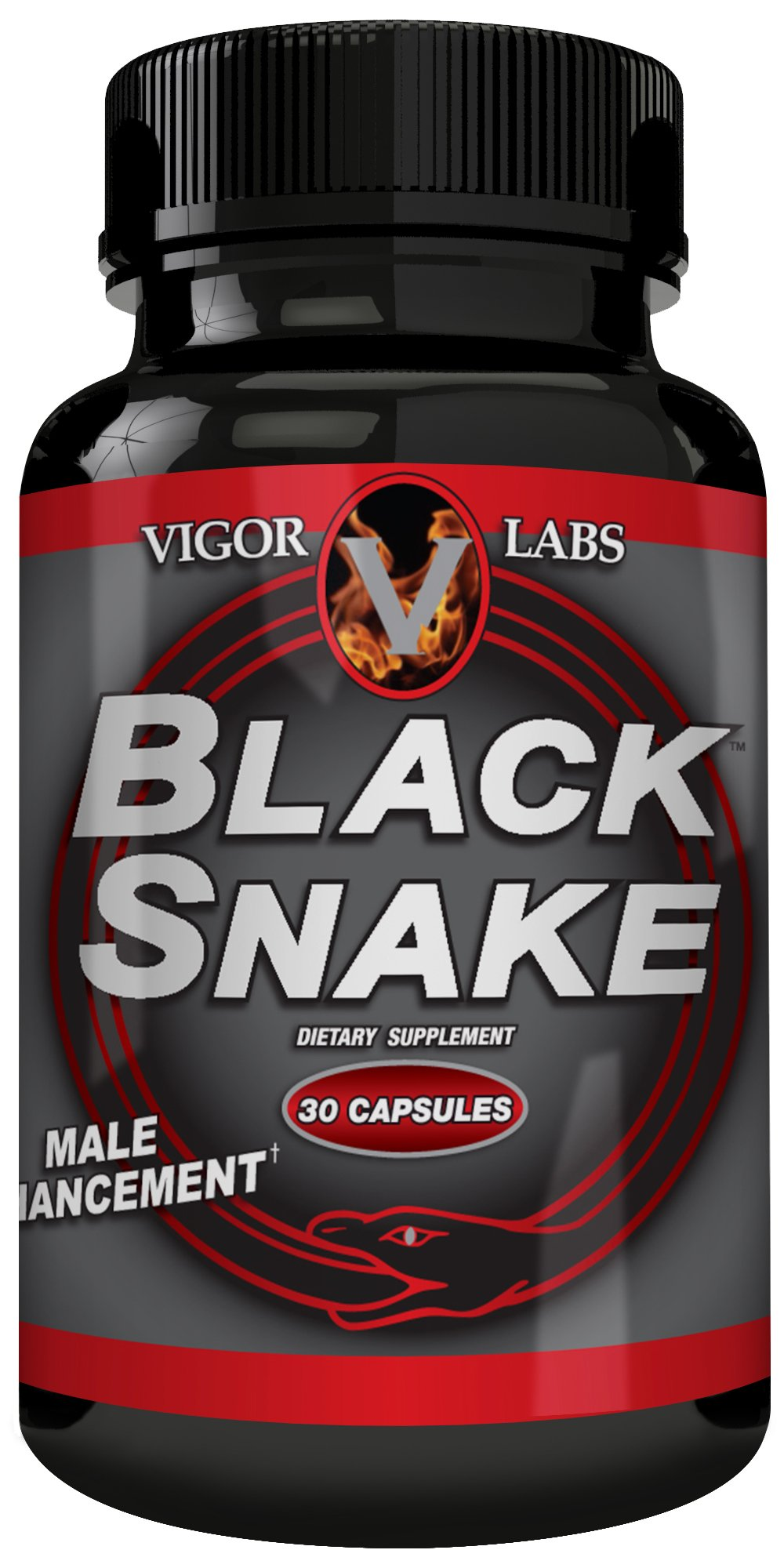 Vigor Labs Black Snake #1 Male Formula for Penis Size by Vigor Labs