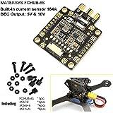 Matek Systems PDB Power Distribution Board BEC 5V/1.5A 10V/1.5A Current Sensor 184A for FPV Racing Drone Quadcopter Martian QAV X 250 210 220 180 150