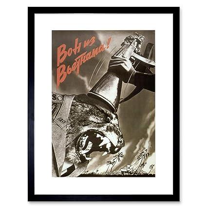 Amazon com: Propaganda Vietnam WAR Soviet USSR Anti American