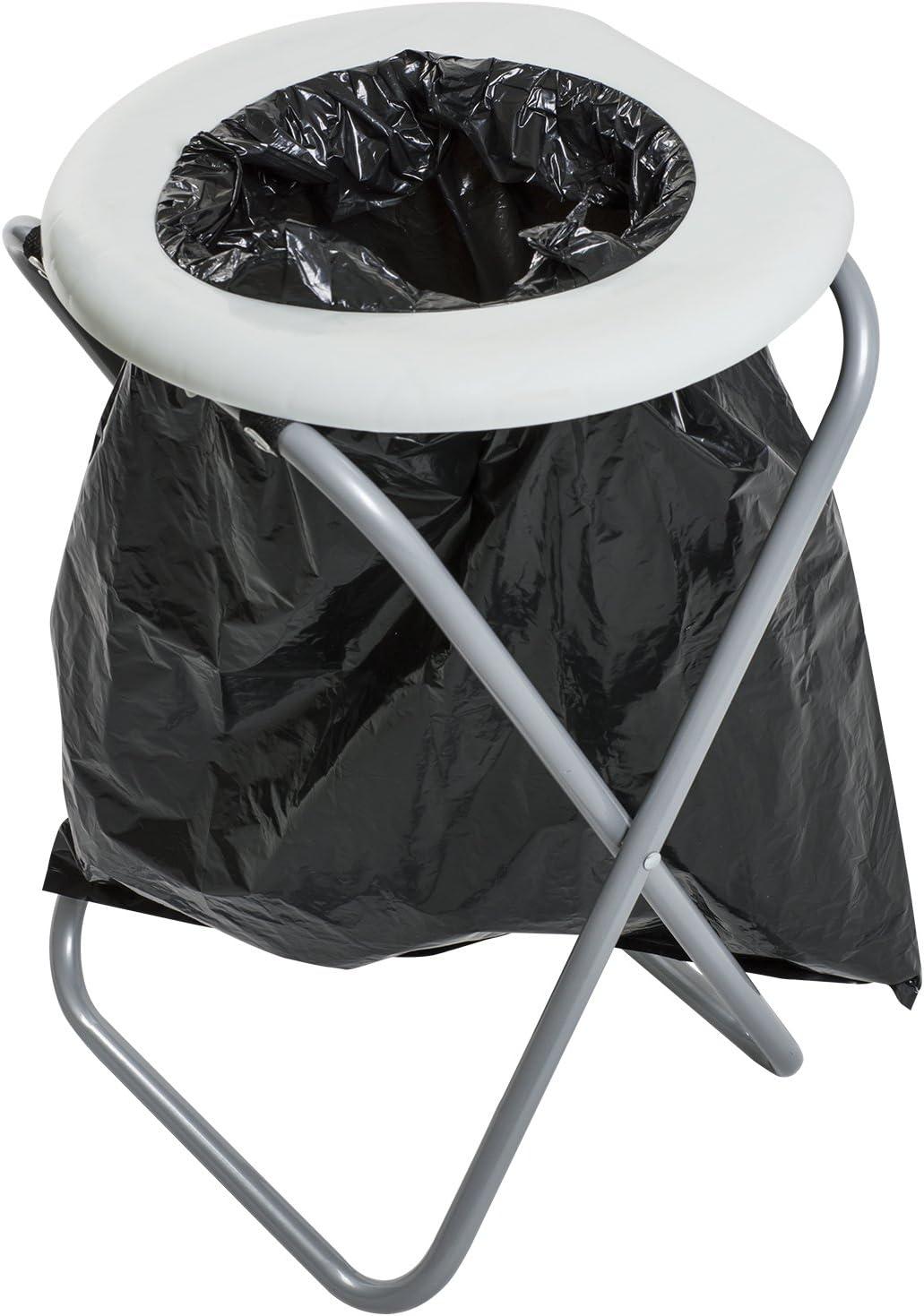 avec 10 sacs Andes Toilettes portatives pliantes pour le camping//lext/érieur