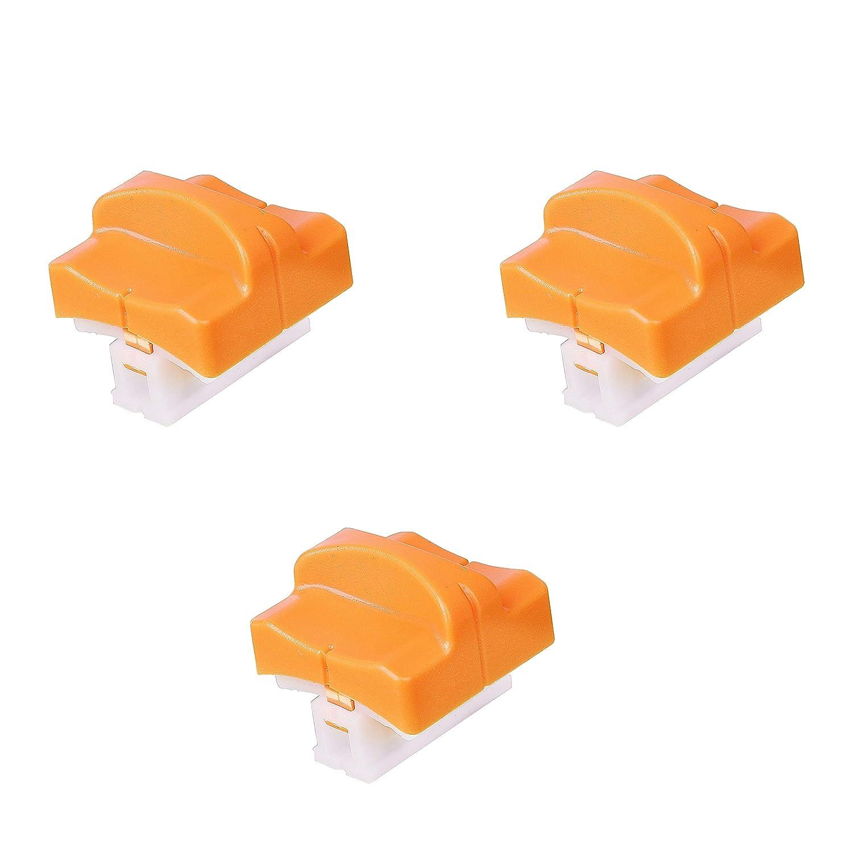 Clicca Sull'immagine per la Valizzazione Estesa Lama di Ricambio per Taglierina di carta con protezione Automatica Protezione Design per A4 Tagliacarte in Bianco e Nero (3 pezzi) MaoXinTek