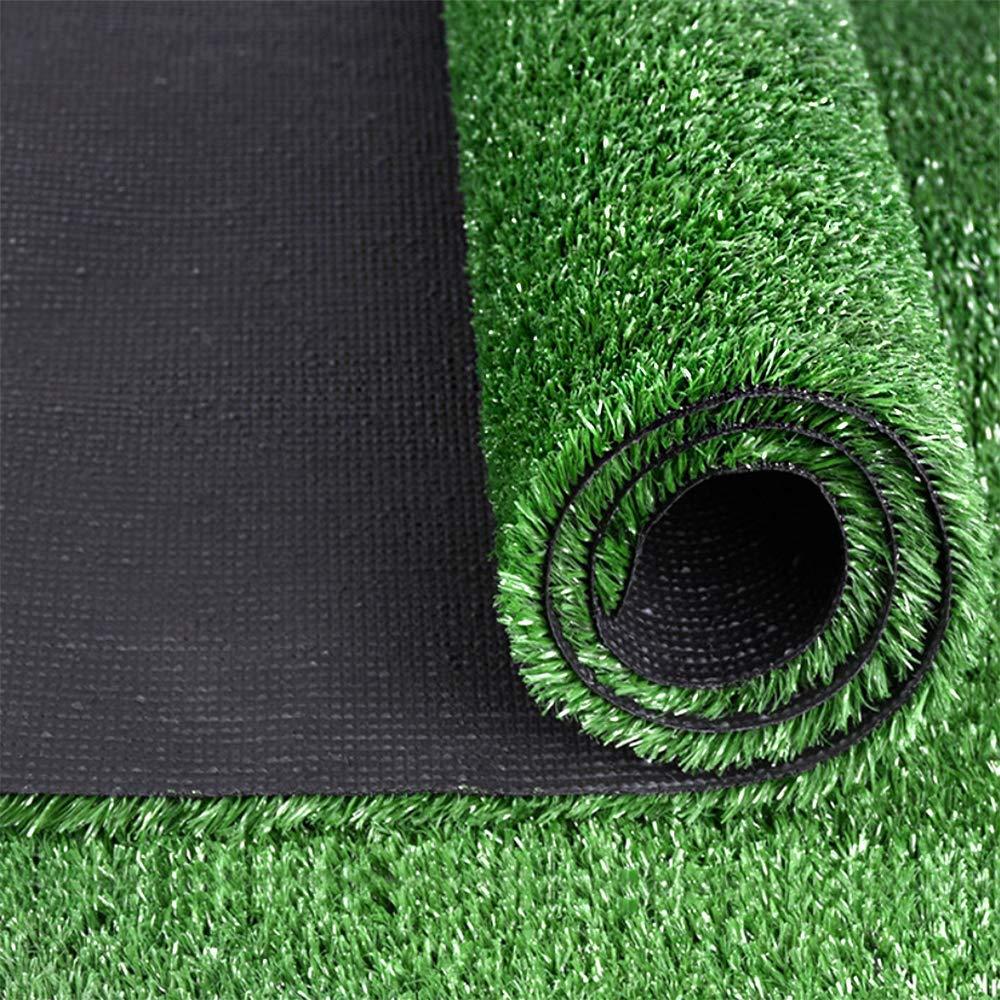PURUIMA Artificial Grass Landscape Outdoor Decorative Turf Series with Neat Edge 3cm, 60''x40'', Summer Grass