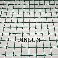 JINLUN Red de barrera alta y red de contención, red de nailon de 3 mm, cuerda perimetral, red de apoyo de tenis, red…