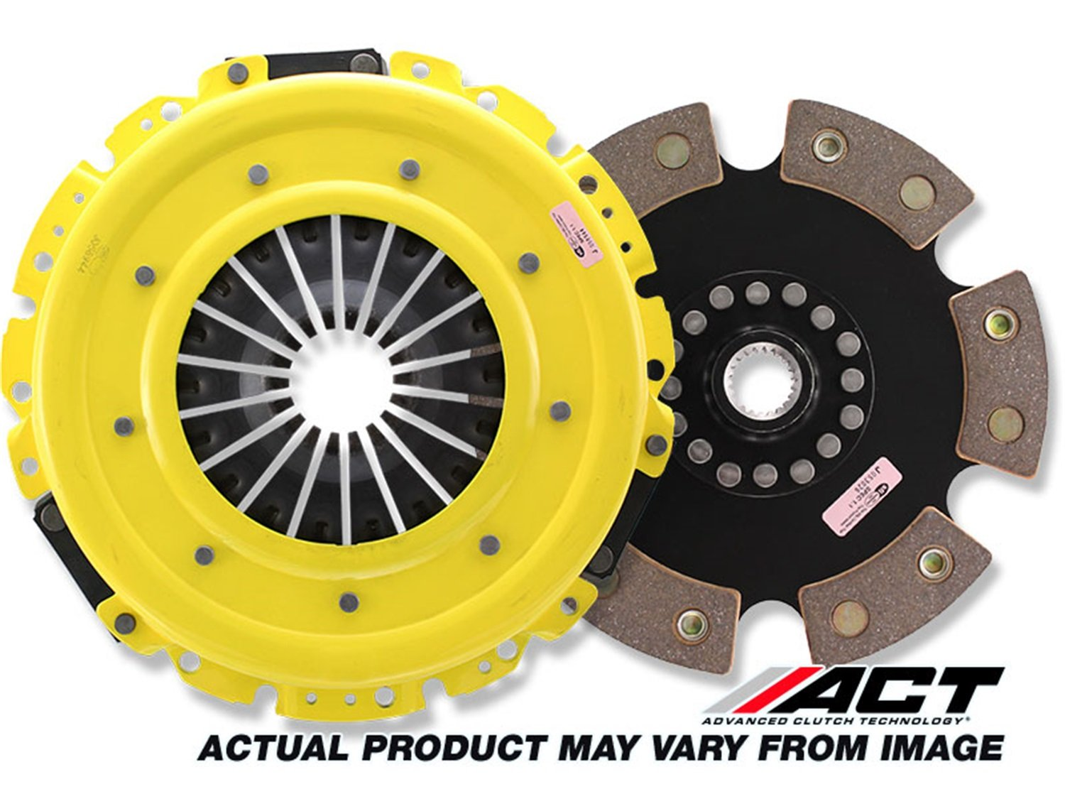 ACT TY1-SPR6 Sport Pressure Plate with Race Rigid 6-Pad Clutch Disc
