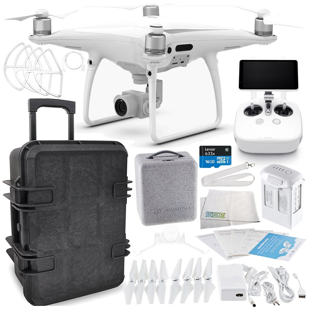 DJI Phantom 4 Pro+ PLUS Quadcopter Travel Case Starters Bundle