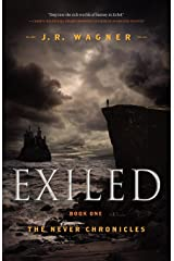 Exiled: Book One of the Never Chronicles Paperback