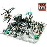 Enlighten Land Force D Air Force Army Building Block Set 3d Construction Brick Toys Educational Block, 761 Pieces