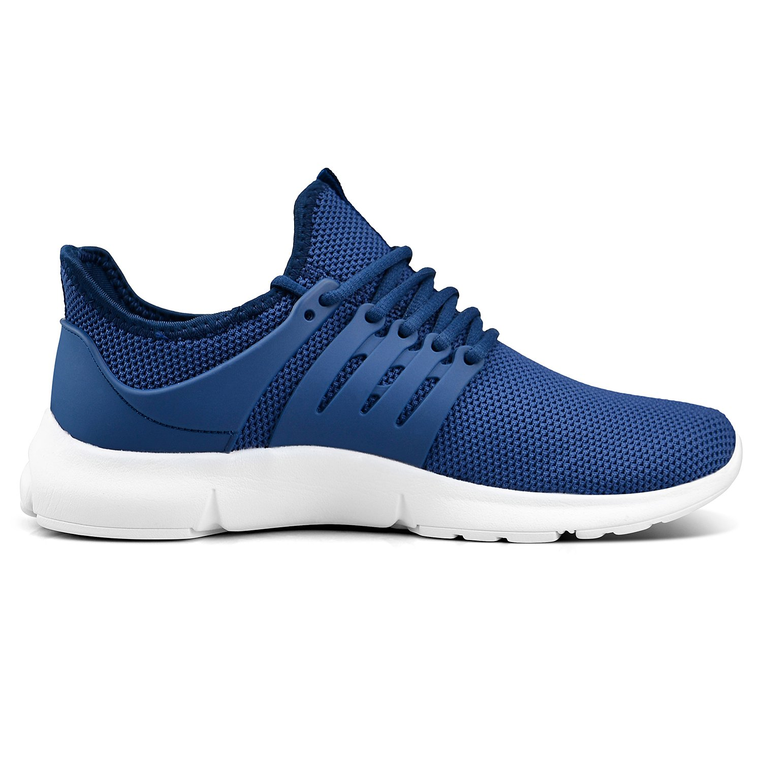 Feetmat Womens Running Shoes Fashion Sneakers Mesh Lightweight Breathable Casual Walking Shoes B07D4DFDTG 11 B(M) US|Blue/White
