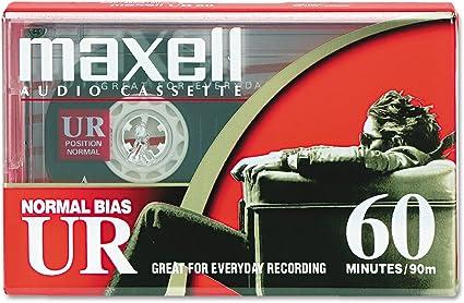 MAXELL XLII 60 EPITAXIAL HIGH BIAS TYPE II BLANK AUDIO CASSETTE JAPAN 1985