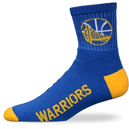 6eb9eca43 Image Unavailable. Image not available for. Color  For Bare Feet NBA Golden  State Warriors Youth Team Color Ankle Socks - Royal Blue