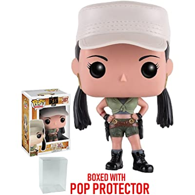 Funko Pop! TV: The Walking Dead - Rosita #387 Vinyl Figure (Bundled with Pop BOX PROTECTOR CASE): Toys & Games