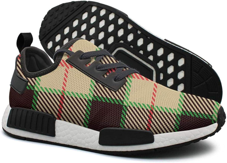 Amazon Com Yellow Black Checkerboard Lattice 80s Running Shoes