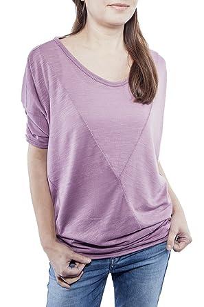 Ella Manue Damen Oversize Shirt Colette , Größe: M, Farbe: Flieder