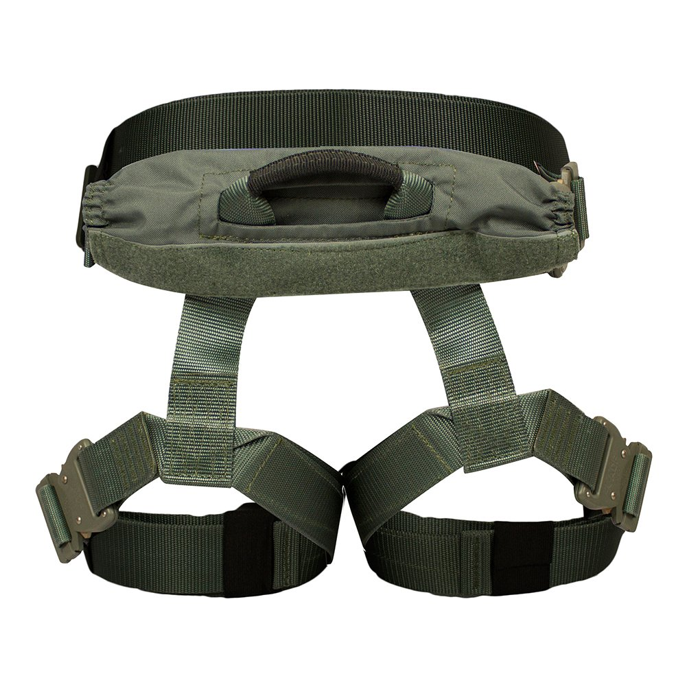 Fusion Tactical Griffin Military Police Half Body Search Rescue Harness Duty Belt 23kN Large Foliage Green