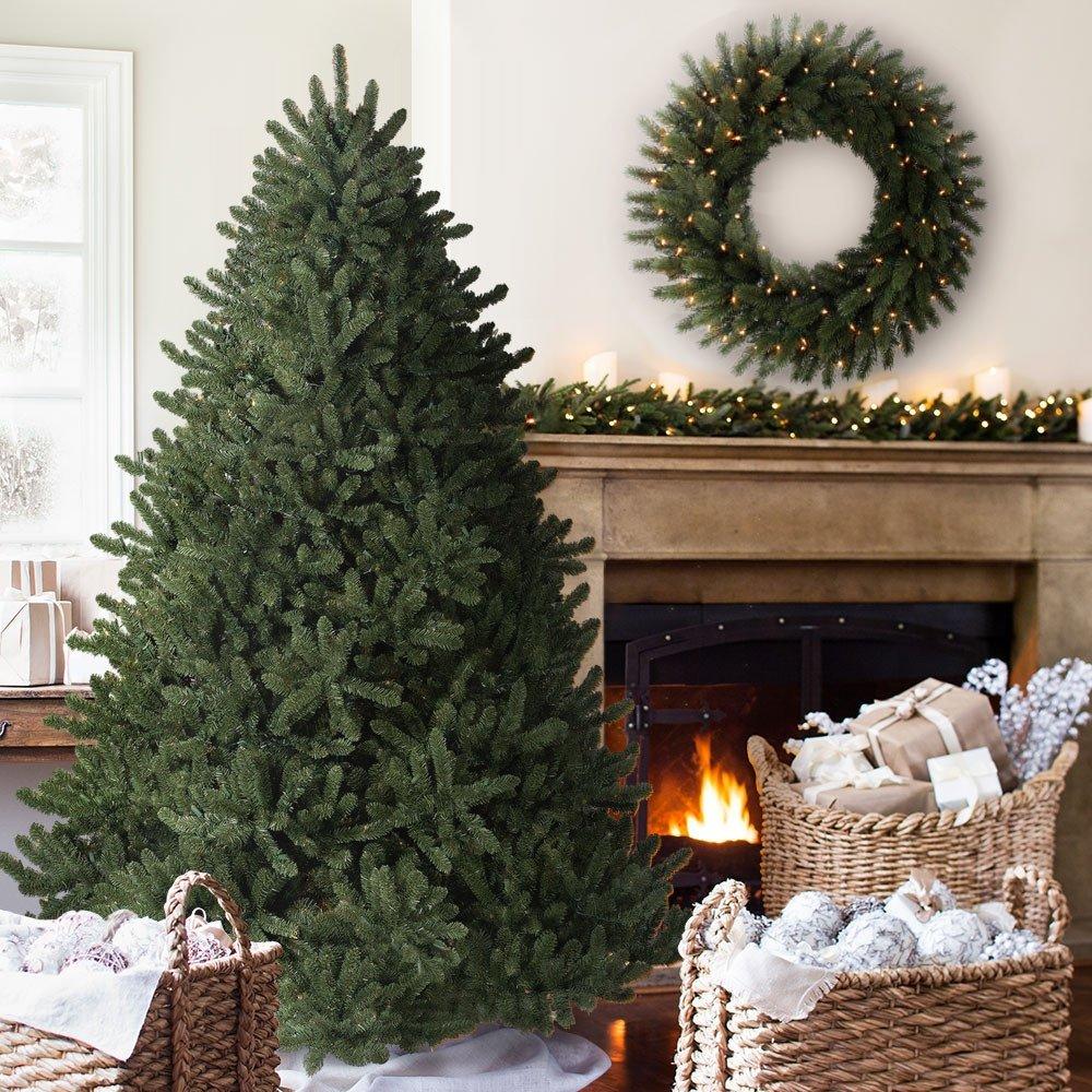 Balsam Hill Adirondack Spruce Artificial Christmas Tree, 7 Feet, Unlit