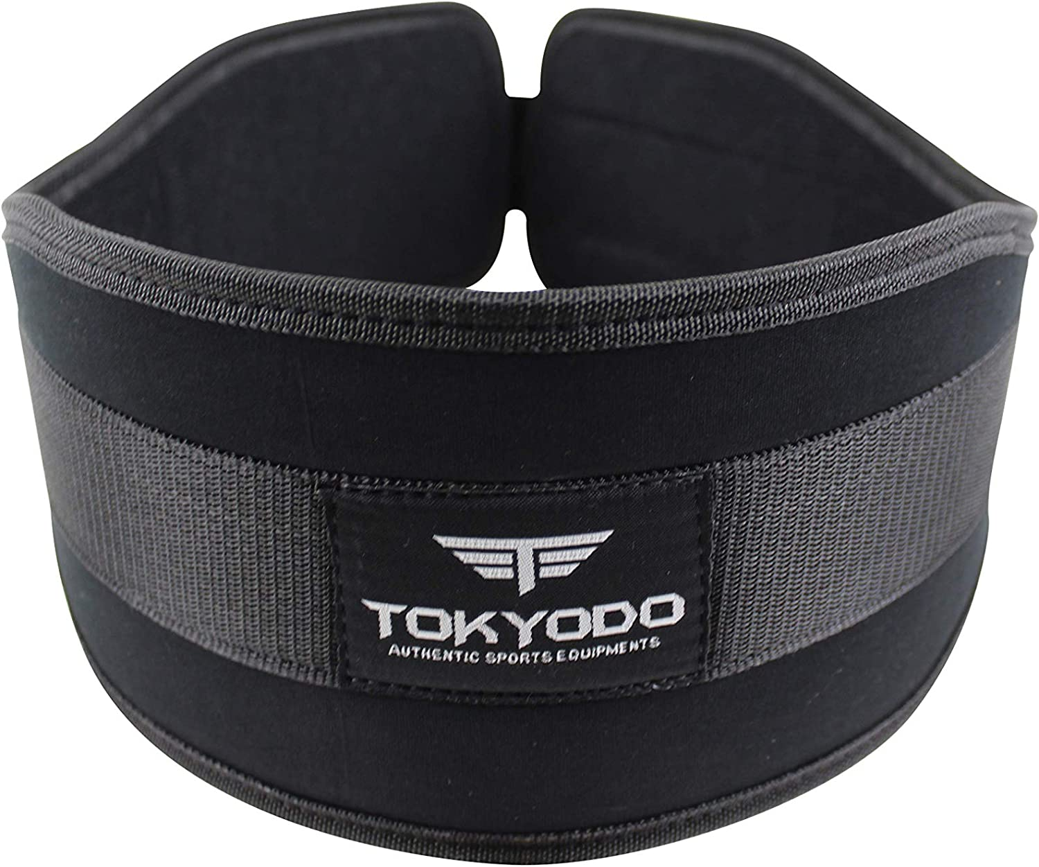 TOKYODO Weightlifting Belt for Women and Men- Weight Belt for Firm and Comfortable Lumbar and Lower Back Support- 6 inch Strength Training Belt Deadlifts Perfect for Squats Lunges