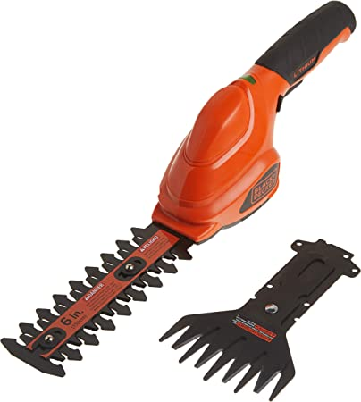 Black and decker hedge trimmer cordless