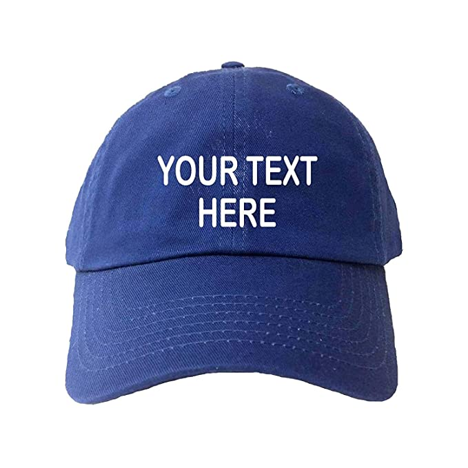 AAlida Gorra de béisbol Personalizada, añade tu Propio Texto ...