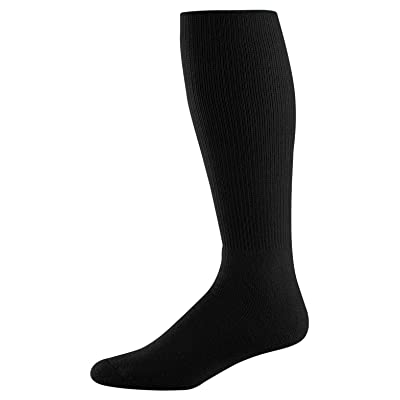 Athletic Socks - Youth Size 7-9, Color: Black, Size: 7 - 9
