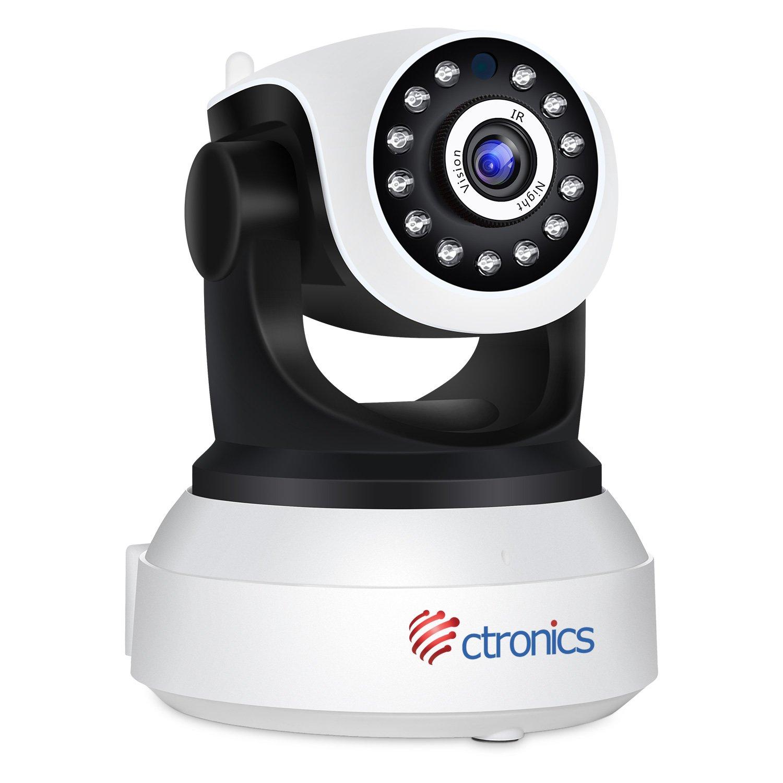 Ctronics C/ámara de seguridad C/ámara IP Wifi 1080P