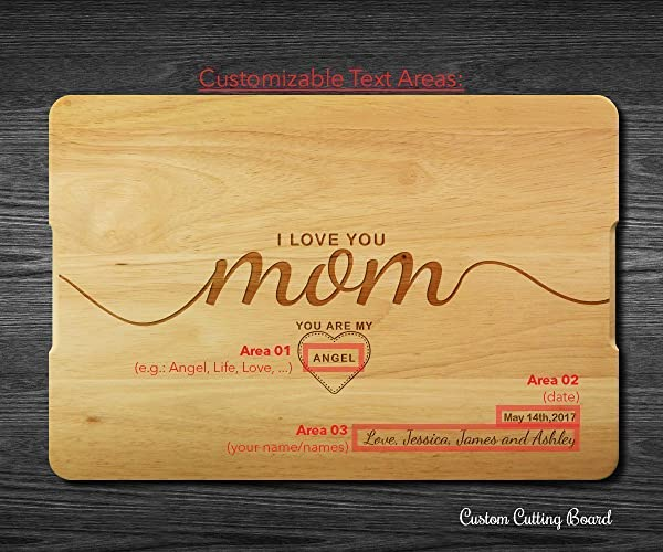 Custom Cutting Board Grandma Handmade Personalized Gift The Woman The Myth The Legend Mother/'s Day Gift Granny #50 Cutting Board