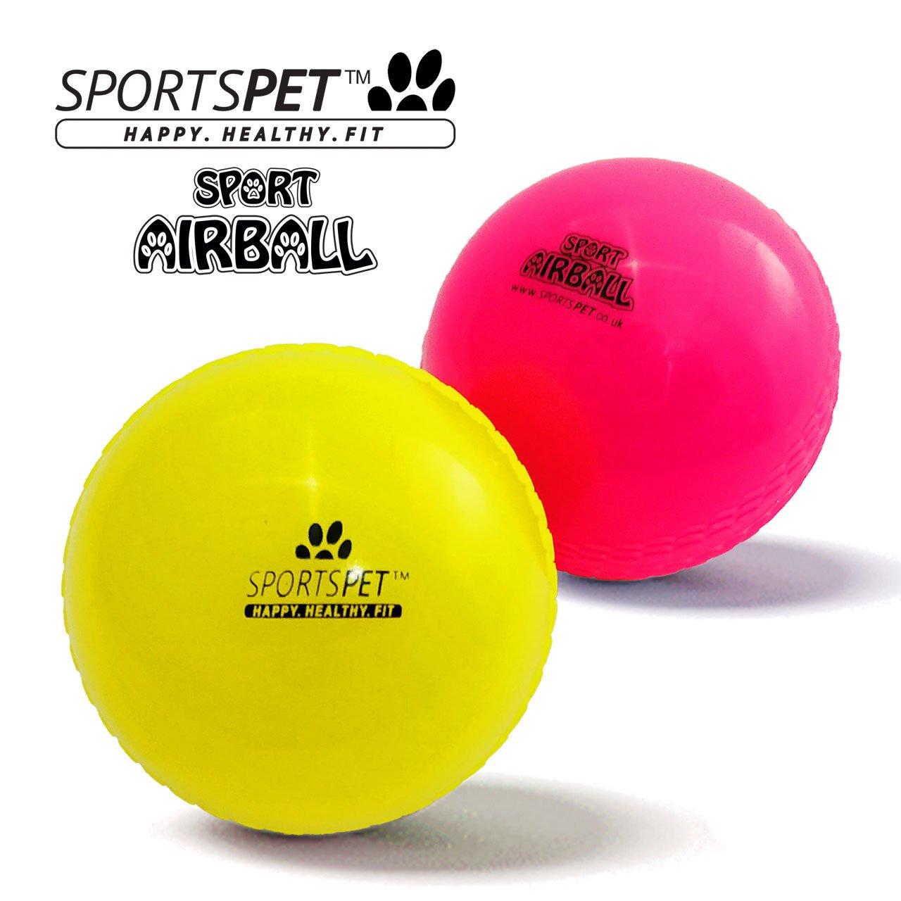 SPORTSPET - Juego de 2 bolas de aire para perros: Amazon.es ...