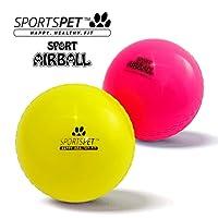 SPORTSPET - Juego de 2 bolas de aire para perros