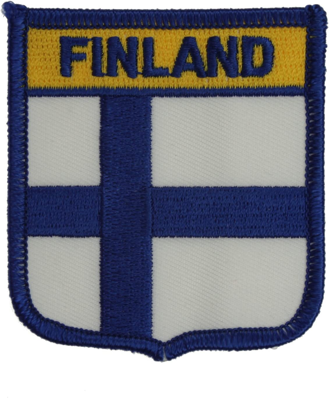 Yantec Wappenpatch Finnland Aufn/äher
