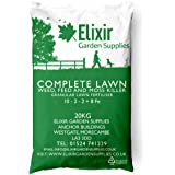 Elixir Gardens | COMPLETE LAWN | All-in-one Weed, Feed and Moss Killer | Treats up to 625m² | 20 Kg Bag