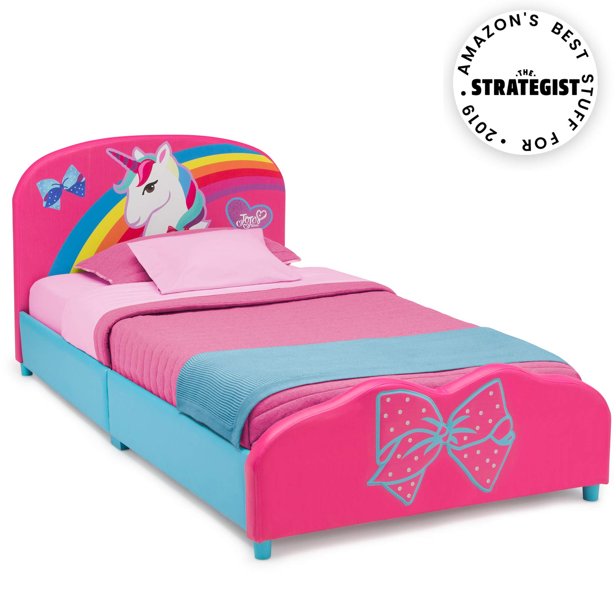Delta Children Upholstered Twin Bed, JoJo Siwa by Delta Children