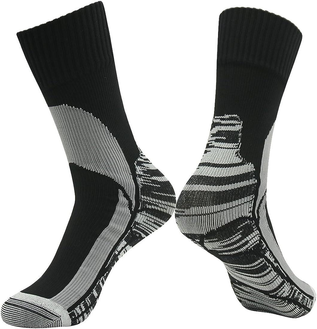 RANDY SUN Unisex Ventilated Breathable Skiing Trekking Sock 100/% Waterproof Hiking Socks, SGS Certified