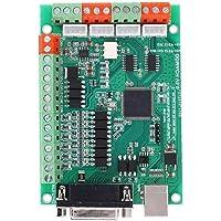 CNC Motion Controller Card 4-Axis USB Breakout Board 125K voor de Gravure Compatibel met MACH3Industrial automatisering…