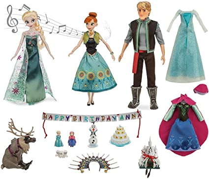 Cake Stencil 8PC FROZEN CHARACTERS Cupcake