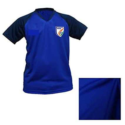 Buy 2018-19 India Football Jersey Premium Imported Master Quality Jersey India  Football Jersey Size L Online at Low Prices in India - Amazon.in eaeec72fe