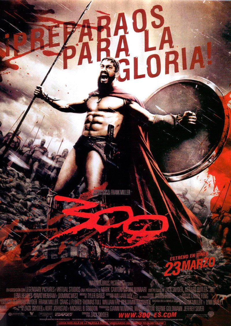 300 (2007) (Blue-Ray + Libro) [Blu-ray]: Amazon.es: Dominic ...