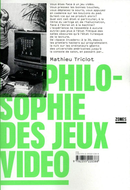 Philosophie Des Jeux Vidéo Amazon Fr Mathieu Triclot Livres