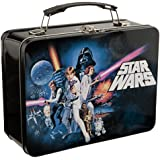 Vandor 99270 Star Wars Episode 4 Large Tin Tote, Black