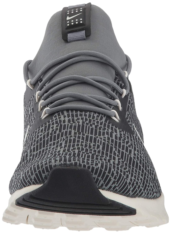 Nike Women s Damen Air Max Motion Racer Running Shoes, Black Sail-Cool Grey