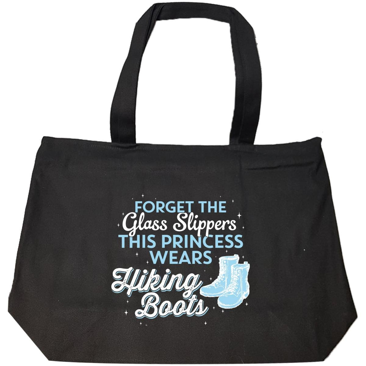 This Princess Wears Hiking Boots - Tote Bag With Zip