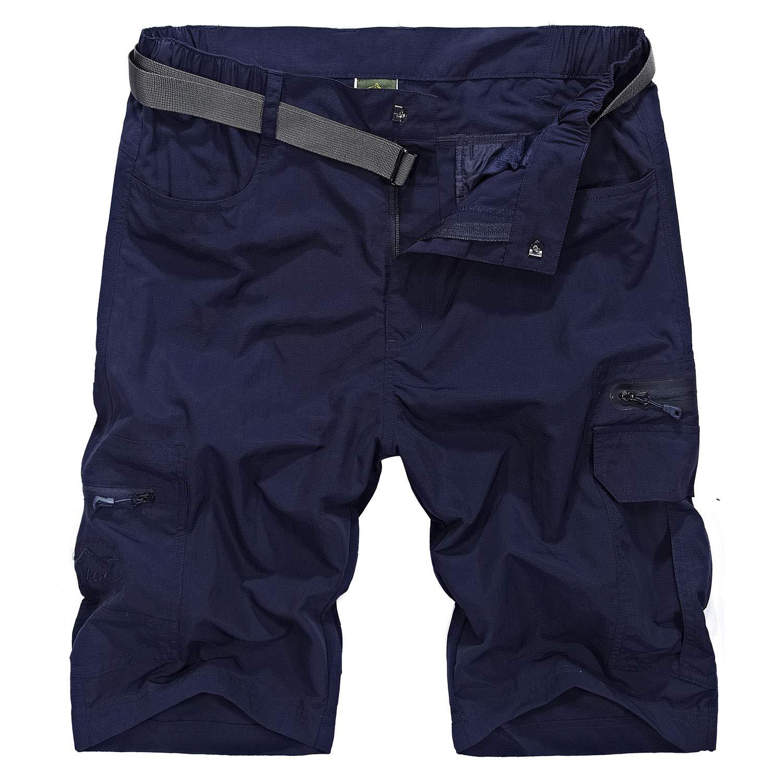 Freiesoldaten Hombres Secado R/ápido Casual Pantalones Al Aire Libre Ciclismo Deportes Verano Pantalones Cortos
