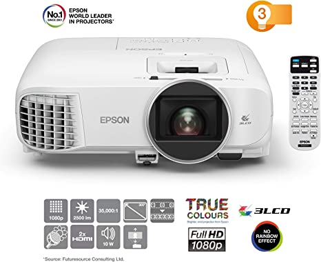 Epson EH-TW5600 Video - Proyector (2500 lúmenes ANSI, 3LCD, 1080p ...