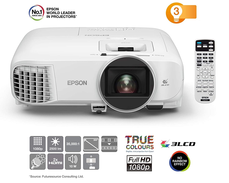 Epson EH-TW5600 Video - Proyector (2500 lúmenes ANSI, 3LCD, 1080p ...