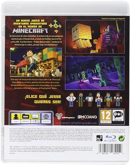 Minecraft: Story Mode: Amazon.es: Videojuegos