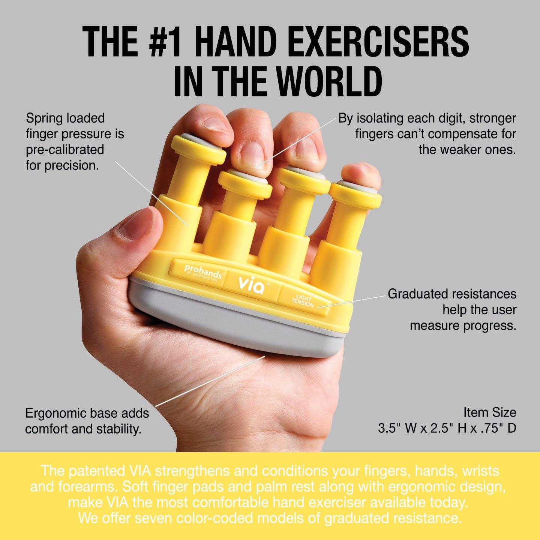 4lb 4 Via Handtrainer/// Fingertrainer Light