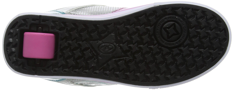 Heelys Girl's Motion Plus (Little Kid/Big Kid/Adult) Silver/Pink/Blue/Glitter Shoe by Heelys (Image #3)