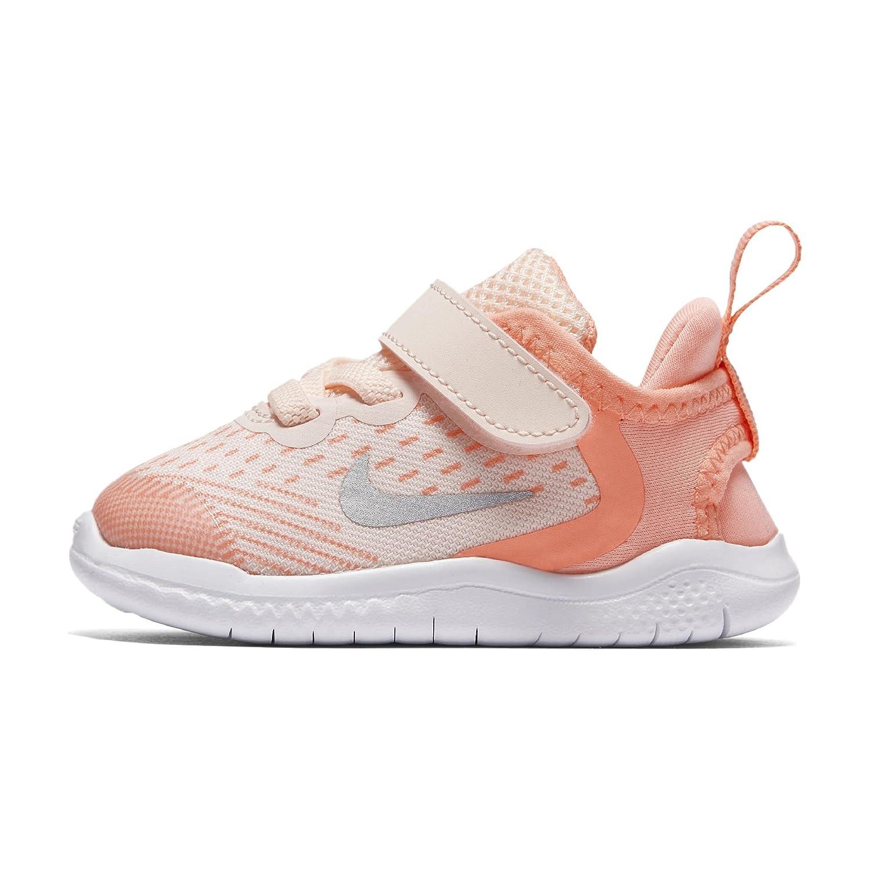 Nike Mauml;dchen Free Run 2018 Laufschuhe  36 EU|Pink (Crimson Tint/Gunsmoke/Crimson 800)
