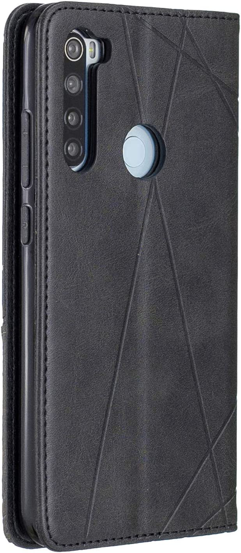 HUDDU Kompatibel mit H/ülle f/ür Xiaomi Redmi Note 8 Handyh/ülle Leder Wallet Tasche Schutzh/ülle Brieftasche Cover St/änder Klapph/ülle Schale Bumper Magnetverschluss Ledertasche PU Lederh/ülle Braun