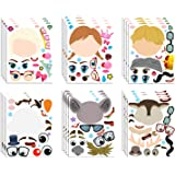MALLMALL6 36Pcs Frozen Make a Face Stickers Princess Party Favors Games Frozen Themed Birthday Party Supplies Princess…